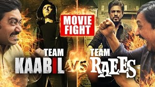 KAABIL vs RAEES  | Shahrukh vs Hrithik | 2017 Blockbuster Clash