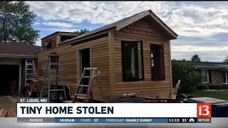 Tiny Home Stolen