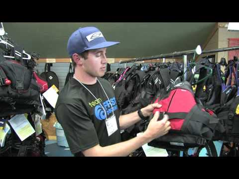 The Stohlquist Descent Whitewater Kayaking PFD