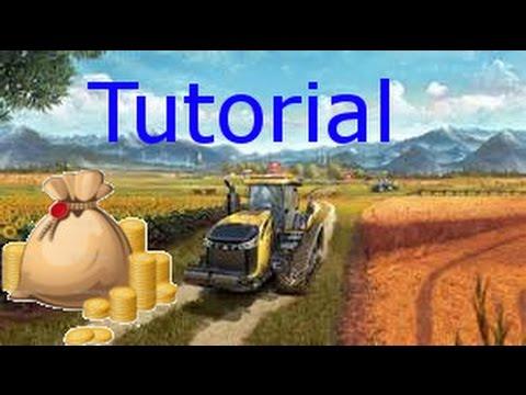 Farming Simulator 2017 Geld Cheaten Ohne Mods Tutorial Youtube
