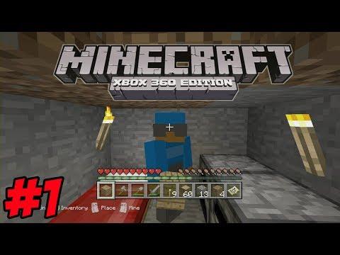 Minecraft Xbox 360 Survival   #1   A New World