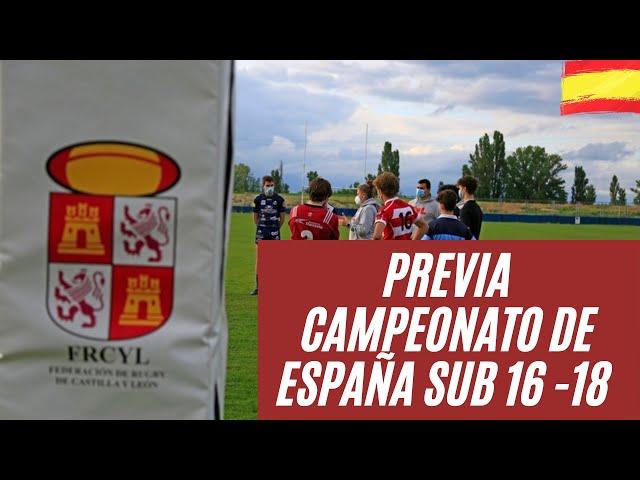 Rumbo Valencia - CCAA SUB 16/18.