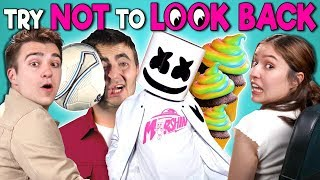 Download Adults React To Try Not To Look Back Challenge Mp3 and Videos