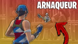 HORRI ARNAQUE OF PLAYERS ON FORTNITE SAUVER THE WORLD? (EPIC TROLL)