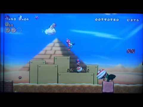 Let's Play New SUPER MARIO BROS. Wii (NL/Dutch) | Deel 04 -