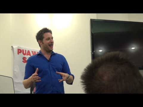 The Day I Failed as a Dating Coach - Adam Lyons PUA Summit Speech 2013