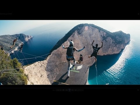 DREAM WALKER III - Zakynthos [Rope Jumping - no limit expedition]