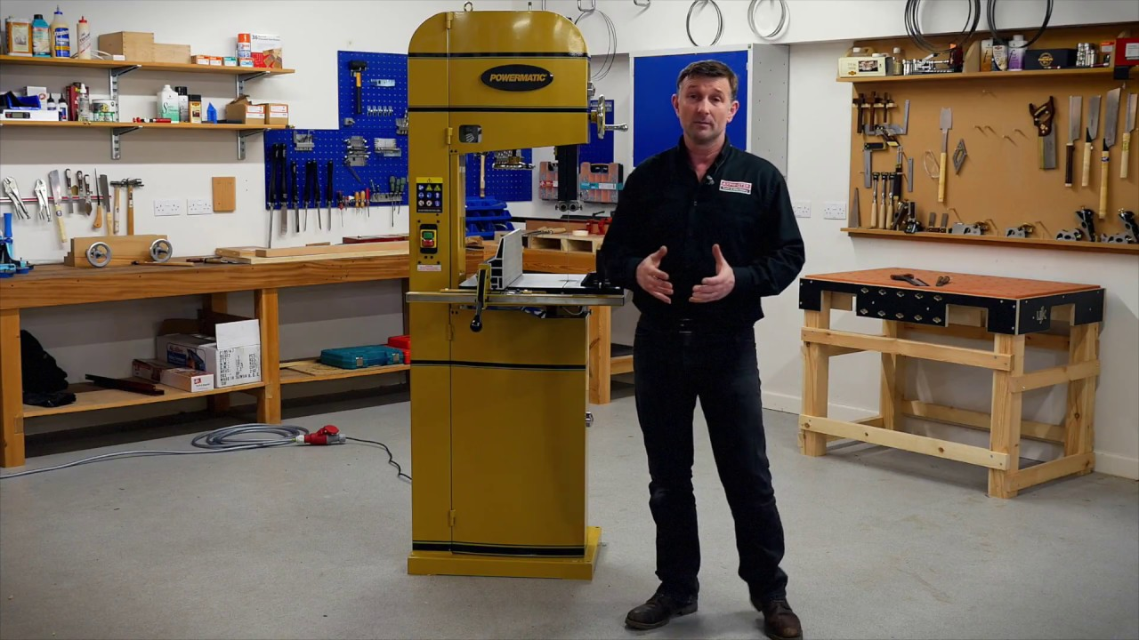 Powermatic PM1500 Bandsaw - Product Overview