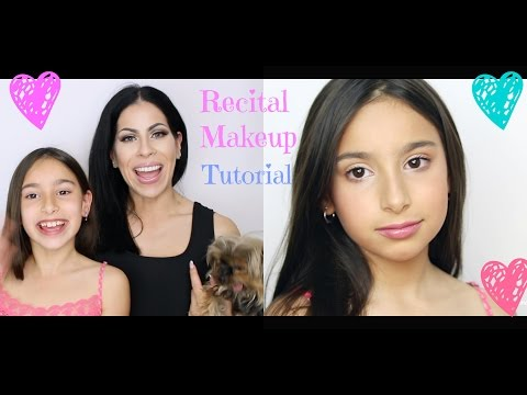 Natural Kids Dance Recital Makeup Tutorial | Dance Makeup for the stage