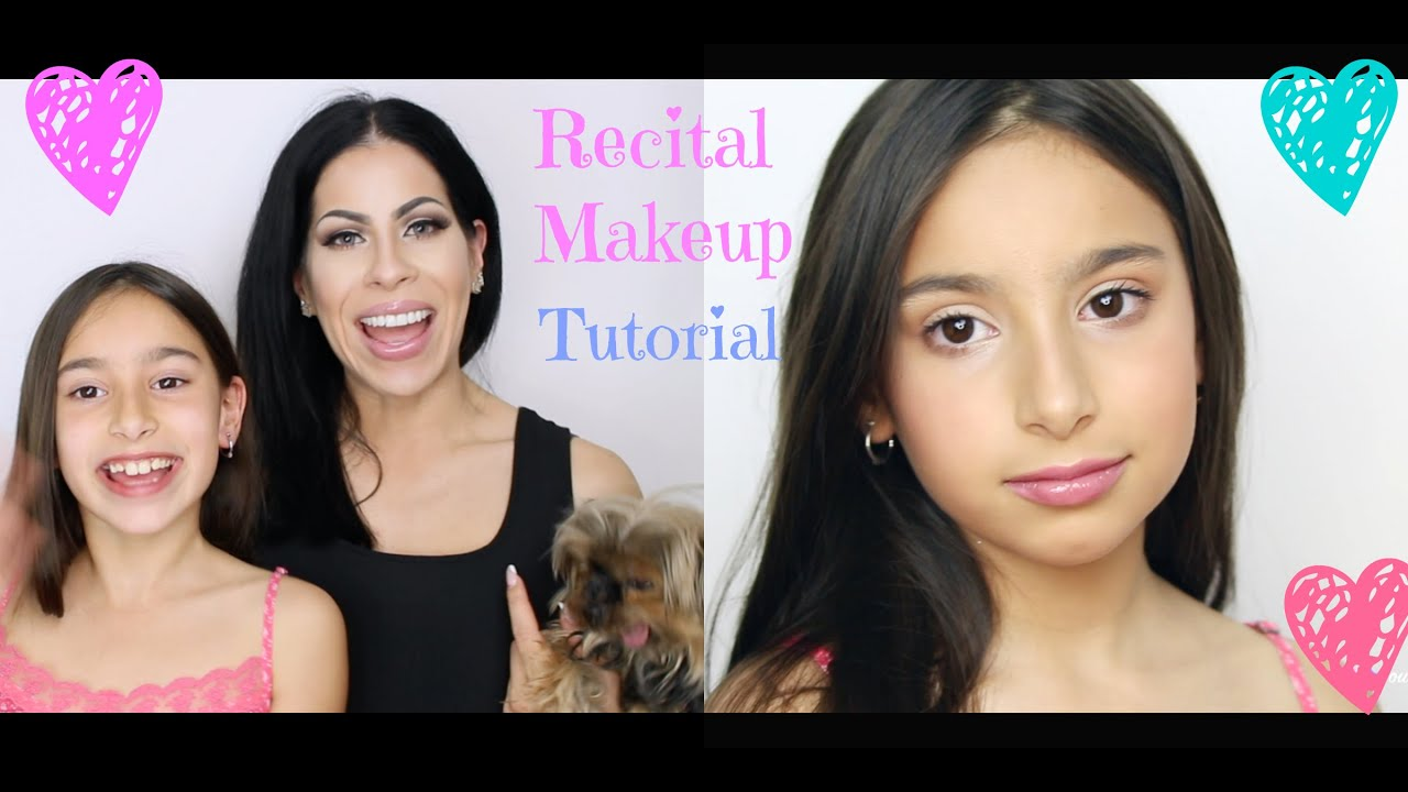 Natural Kids Dance Recital Makeup Tutorial Dance Makeup For The