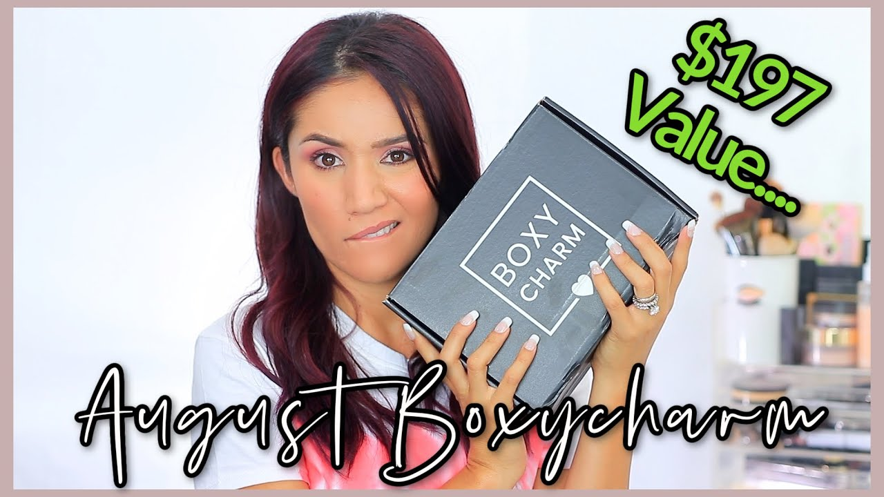 Boxycharm August Unboxing 2020