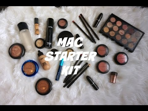 MAC STARTER KIT ♡ FOR BEGINNERS & MAKEUP ARTISTS