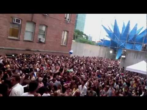 DJ TODD TERRY @ MoMA PS1 Warm Up 7-7-2012