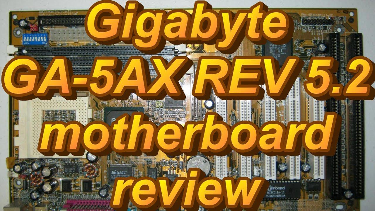 Gigabyte GA-5AX(PCB 5.x) Driver Download (2019)