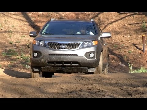 2012 KIA Sorento AWD Off-Road Drive & Review