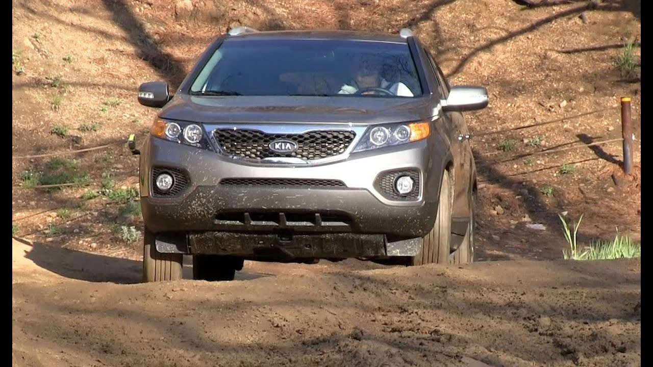 2012 KIA Sorento AWD OffRoad Drive  Review  YouTube