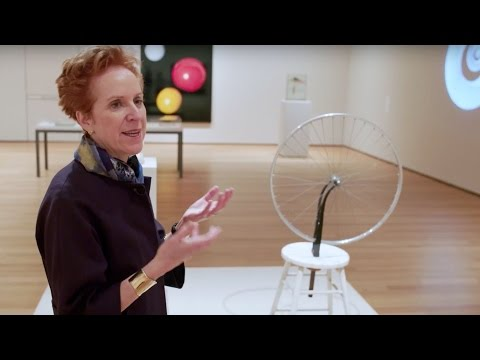 "Marcel Duchamp  HOW TO SEE ""Readymades"" with MoMA curator Ann Temkin"