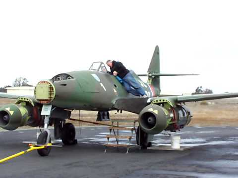 Me-262 Replica Left Engine First Run