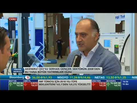 Akenerji CEO'su Serhan Gençer Türkiye Enerji Zirvesi'nde Bloomberg HT'nin sorularını yanıtladı.