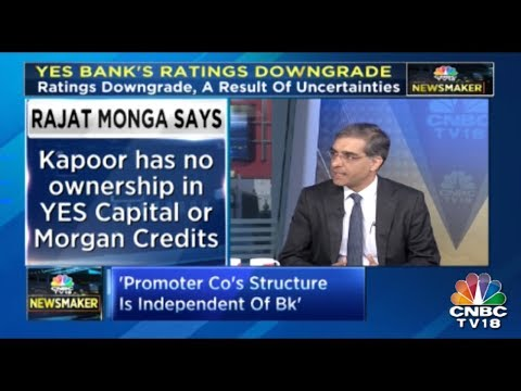 Rana Kapoor Has No Ownership In Yes Capital Or Morgan Capital : Rajat Monga, SGP Yes Bank Exclusive