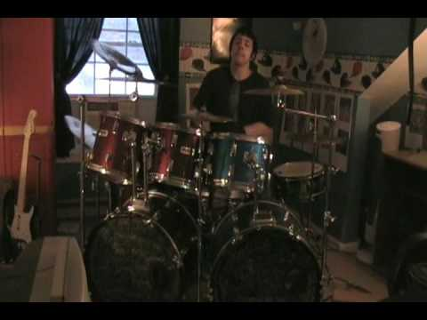 DragonForce - Through the Fire and Flames drums - YouTube