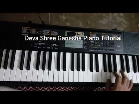 Deva Shree Ganesha Piano Tutorial