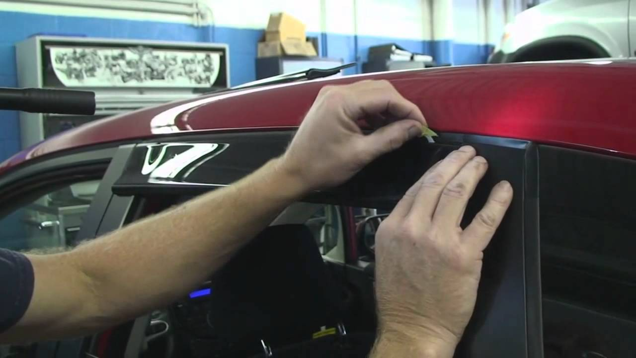Episode #227 - 2nd Generation Honda Fit Door Visor Installation - YouTube & Episode #227 - 2nd Generation Honda Fit Door Visor Installation ...