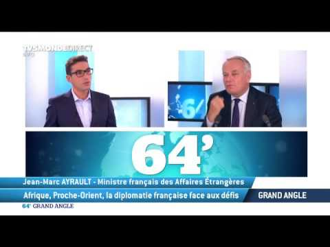 "Jean Marc Ayrault invité exceptionnel du ""Grand Angle"""