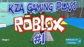 Il gioco di K-A gioca Roblox #1 - Speed Run !