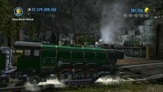 LEGO City Undercover - Complete Vehicle Guide - Trains (Emerald Night, Cydonia, Courser)