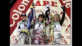 Kristina Koznick wins slalom (Åre 1998)