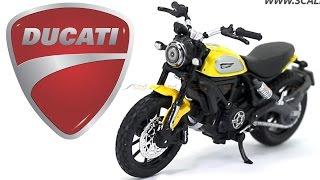 Ducati Scrambler 1:18 Maisto Diecast Scale model bike