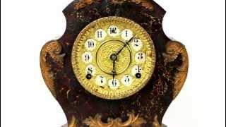 видео Каминные часы Ansonia. Продажа антикварных часов.