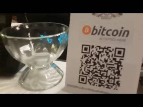 Dinner Paid using Bitcoin at Viv's Boutique Cafe, TTDI Kuala Lumpur
