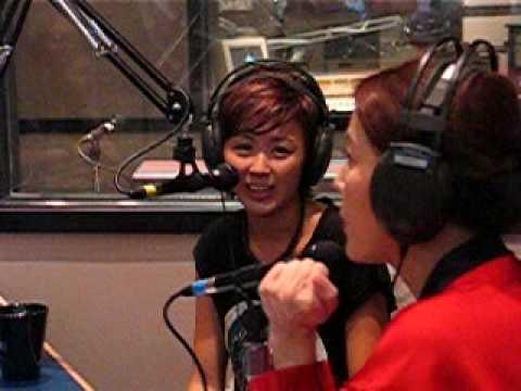 Leila Tong @ Vancouver Radio Station (2)