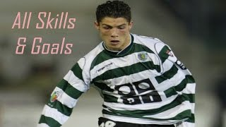 Cristiano Ronaldo Sporting Lisbon Skills and Goals