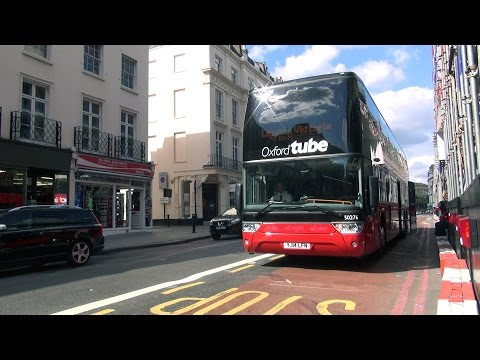 London Bus Oxford Tube Vanhool Astromega TDX27 From Gloucester Green-Shepherd's Bush