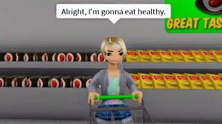 Alright I'm gonna eat healthy... (meme) ROBLOX