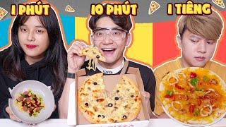 Lớp Học Nhí Nhố - Pizza 1 Phút VS 10 Phút VS 1 Tiếng - Hotboy Học Đường Xuất Hiện!