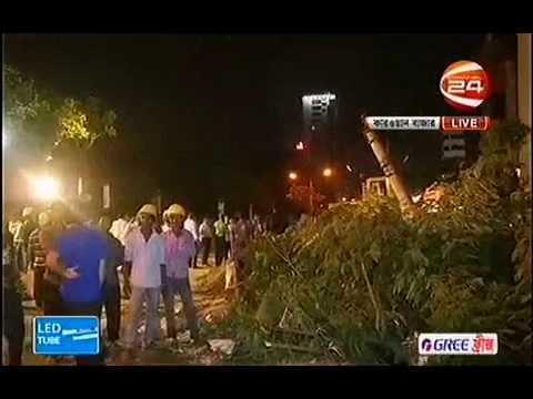 Sundarban Hotel in Dhaka's Karwan Bazar was evacuated fearing collapse