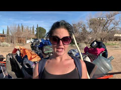 Caitlin Patrick Talks About Being Homeless In Victorville.