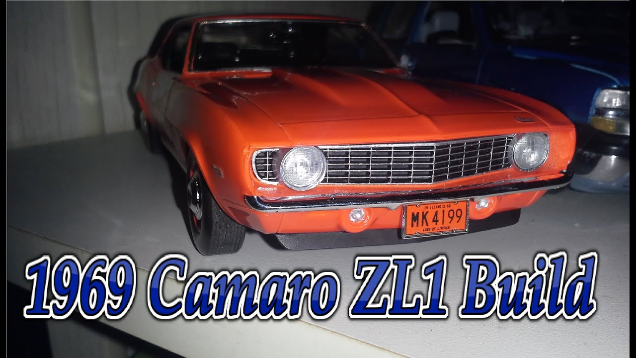 Revell 1969 Camaro Zl1 Build Youtube