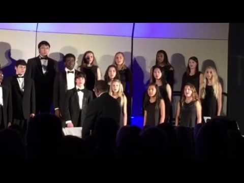 Cape Henry Collegiate winter chorus concert 2016