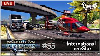 "LIVE | American Truck Simulator - #55 ""International LoneStar"" - Na żywo"