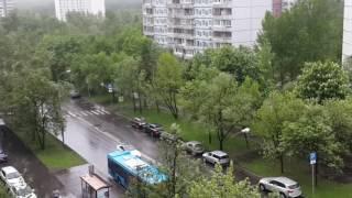 Ураган в Тропарево никулино 29.05.2017