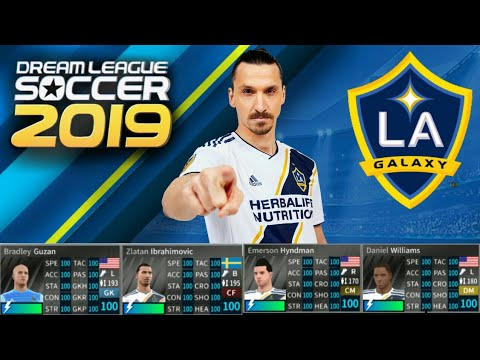 How To Hack LA GALAXY Team 2018 ● All Players 100 ● Dream League Soccer  2019 - NEW UPDATE
