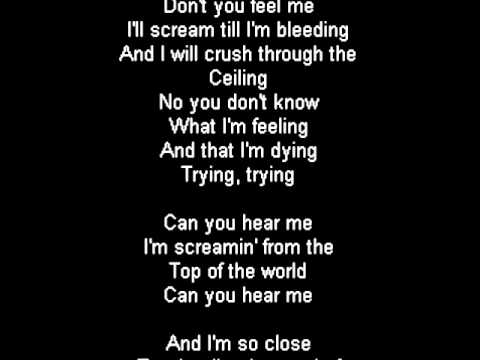 Tokio Hotel - Screamin' Lyrics