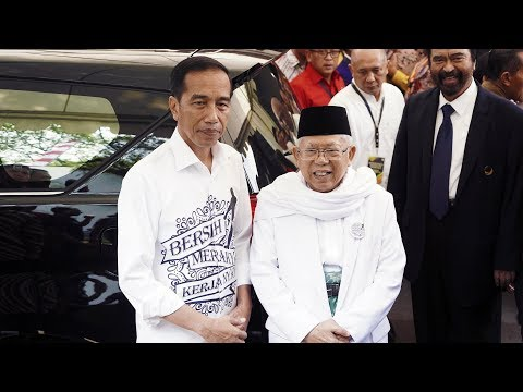 Incumbent Indonesian President Widodo registers as candidate for 2019 election