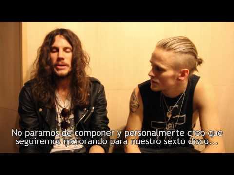 Vídeo de la entrevista a Erik Grönwall y Eric Rivers de H.E.A.T