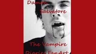 Drawing Damon Salvatore